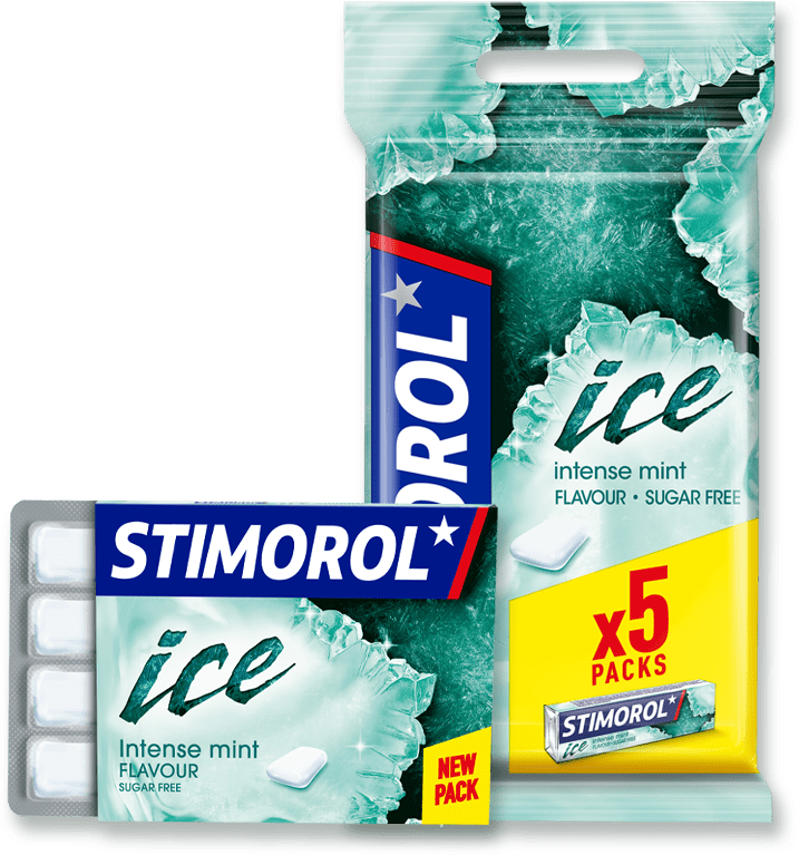 gum 5 pieces ice peppermint